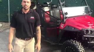 8. Mahindra mPact 1000 Diesel UTV Utility Vehicle Attachment Walk Around with Speaker Bar