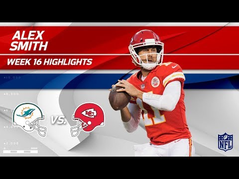 Video: Alex Smith Highlights | Dolphins vs. Chiefs | NFL Wk 16 Player Highlights