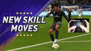 Video ALL NEW SKILLS & TRICKS IN FIFA 18 - LEARN THE (9) NEW SKILL MOVES! MP3, 3GP, MP4, WEBM, AVI, FLV Juni 2018