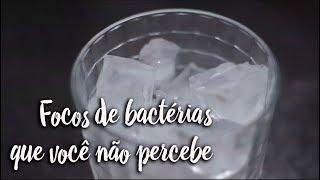 Focos de bactérias que você não percebe