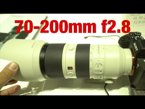 Sony G MASTER 70-200 f2.8 - HANDS ON