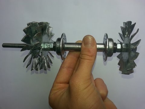 Home made Jet engine - Come Realizzare una Turbina Jet - Part 1