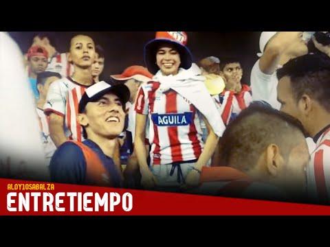 Murga y repique - Frente Rojiblanco - Junior 2-0 Pasto (27/Sep/15) - Frente Rojiblanco Sur - Junior de Barranquilla