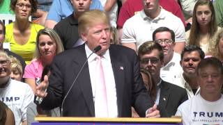 Oskaloosa (IA) United States  city photo : 7/25/15 - Donald Trump - Full Oskaloosa Iowa Event
