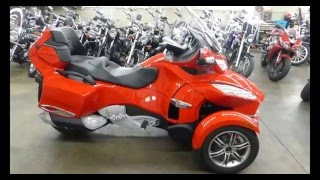 7. 2012 Can am Spyder RT-S Description