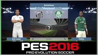 GAMEPLAY DE PES 2016 SOMENTE PARA MOSTRAR A JOGABILIDADE ,FACES E UNIFORMES. Curti games de esporte? Livestreams de games variados?