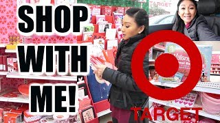 Target Shop With Me    Valentine S Day Shopping