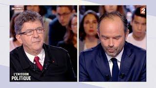 Video Jean-Luc Mélenchon face à Édouard Philippe dans L'Émission politique MP3, 3GP, MP4, WEBM, AVI, FLV Oktober 2017