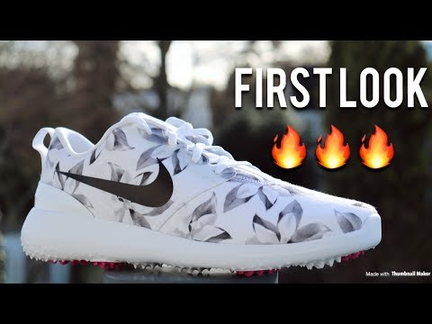 Nike Roshe G Golf Shoes | The Magnolia Masters Special Edition | First Look!