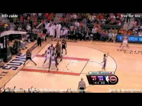 NBA Playoffs: Blazers at Suns 04-26-2010