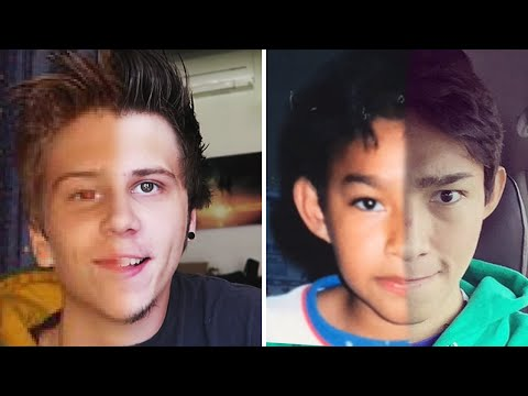 10 youtubers famosos antes y después - los mejores top 10