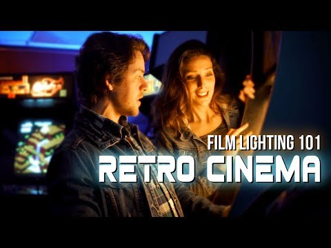 How to Light Like Stranger Things | 3 Retro Lighting Setups (видео)