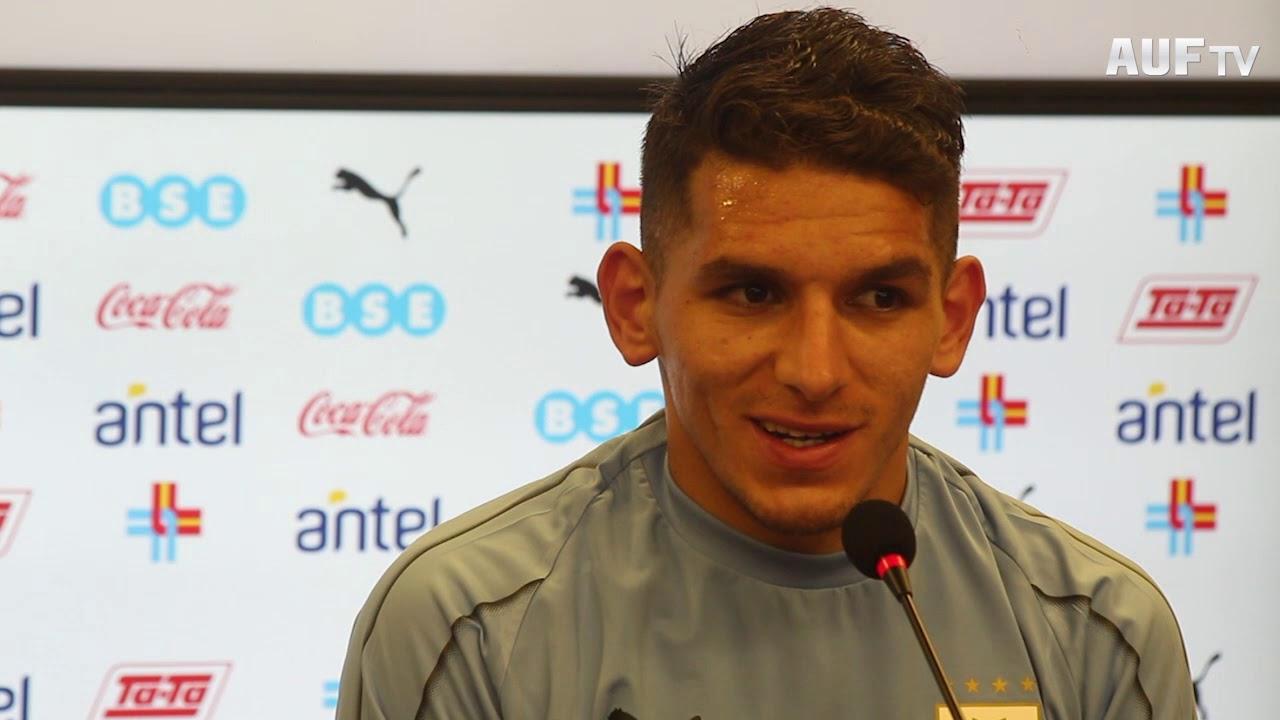 Conferencia de prensa de Lucas Torreira (11/6/19)