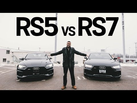 2019 Audi RS5 vs 2018 Audi RS7 - which do you prefer?