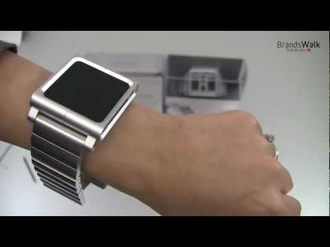 ipod as a watch - The original LunaTik premium conversion kit is now available in an all aluminum version called Lynk. The Lynk is available in silver or black and features th...