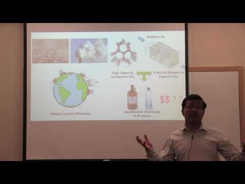 Three-minute Thesis: CO2 Capture from Air