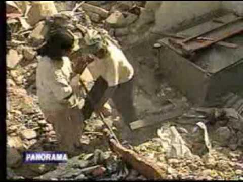Terremoto en Moquegua 23 de Junio 2001