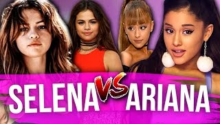 WHO WORE IT BETTER?! Selena Gomez vs. Ariana Grande (Dirty Laundry) by Clevver Style