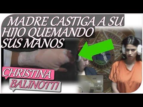 MADRE CASTIGA A SU HIJO QUEMANDO SUS MANOS - CASTIGO INFANTIL