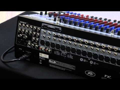 Peavey - Peavey FX2 Series Professional Mixer w/ 2 USB Ports + Dual DSP FX Engine FX 2 | AudioSavings.com Free Shipping!!!! Click Here: http://stores.ebay.com/AUDIOSA...