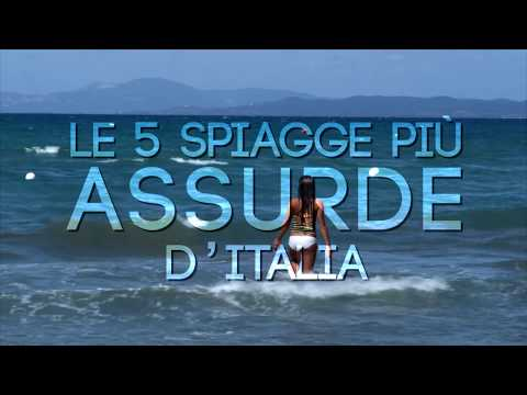 le 5 spiagge più assurde d'italia