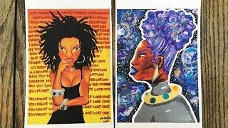 KLT Art on Black Business Spotlite & Giveaway by Kunity