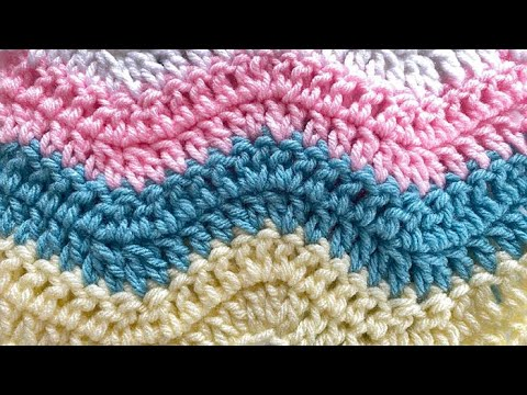 Crafting update...crochet baby blanket