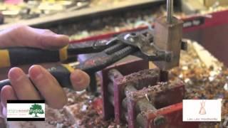 Watch a quick take on Aaron Lau making a Koa wood Pen