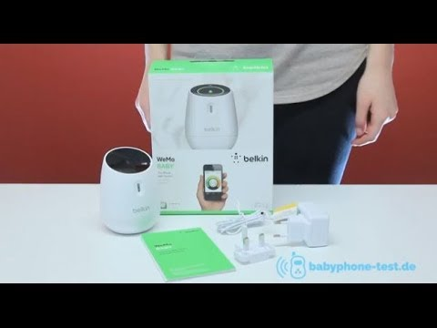 Belkin WeMo Smart Baby Monitor Video Review