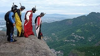 BEST OF F A S T Wingsuit and Base Jumping / Brazil #GOPRO