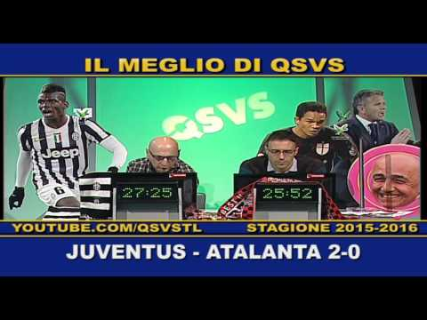 l'atalanta si inchina alla juventus ed in tv è festa