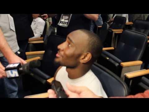 Jamison Crowder Interview 10/13/2013 video.