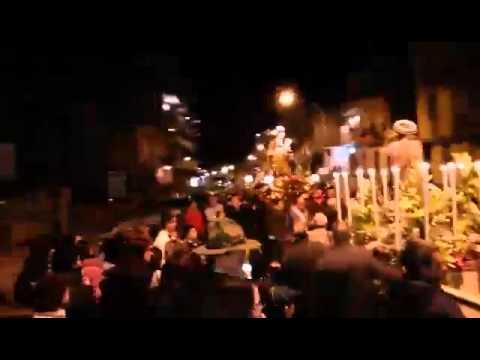 """Processione di San Giuseppe, a Portella di mare """"l'incontro"""" [video e foto]"""