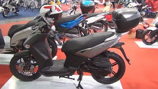 8. KYMCO Agility City 50 Exterior and Interior