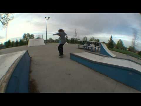 Gillette, Wyoming Skatepark April 2012 Montage