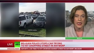 Belgian police prevents car-ramming attack in Antwerp