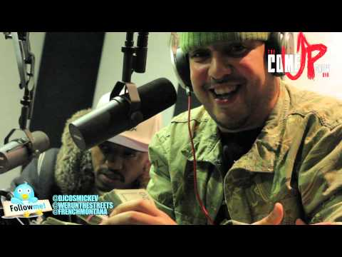 "French Montana x Coke Boys Freestyle On ""The Come Up Show"""
