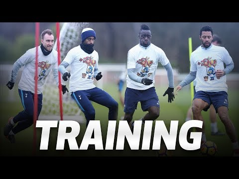 Video: TRAINING | SPURS TRAIN AHEAD OF ARSENAL DERBY CLASH
