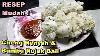 Video Cara Membuat Cireng Renyah, Empuk Dengan Sambal Rujak Bali - Resep Mudah MP3, 3GP, MP4, WEBM, AVI, FLV Mei 2019