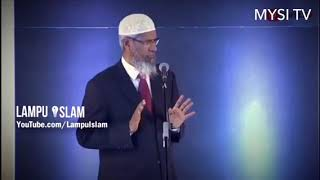 Video Dr Zakir Naik  Why can't muslim touch dogs MP3, 3GP, MP4, WEBM, AVI, FLV November 2017