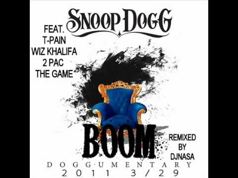 [REMIX]Snoop Dogg - BOOM Feat.T-Pain,Wiz Khalifa,2 Pac & The Game[MASHUP]