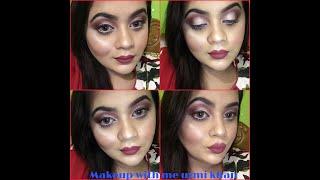 Live tutorial ||Fall makeup tutorial||brown eyes with flawless makeup||winter look||urmi khan