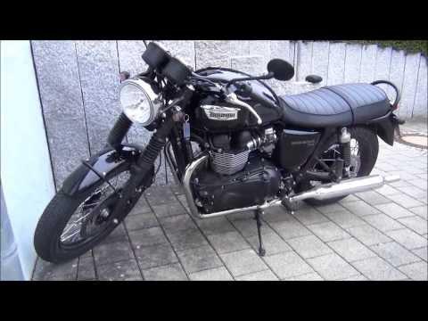 Triumph Bonneville T100 2014 Black