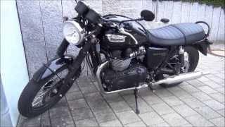 7. Triumph Bonneville T100 2014 Black