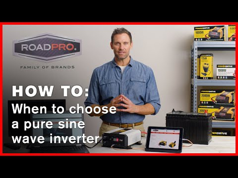 Power Inverter HOW TO #5 - How to determine if you need a pure sine wave inverter