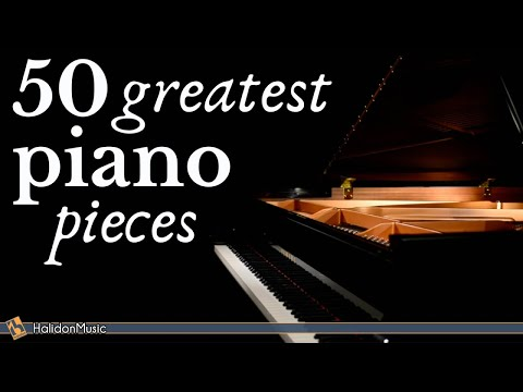 The Best of Piano - 50 Greatest Pieces: Chopin, Debussy, Beethoven, Mozart...