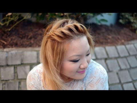 , title : 'HOW TO   Front Side Twist Hairstyle {Quick & Easy}'