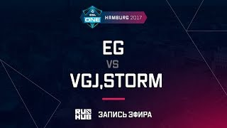EG vs VGJ,Storm, ESL One Hamburg 2017, game 2 [Lex, 4ce]