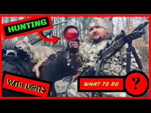 "Coyote Hunting At Night With A Light ""tips And Tactics "" Team Zombie"