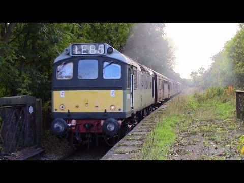 The Great Central Railway North Sulzer Diesel Gala 19th O...